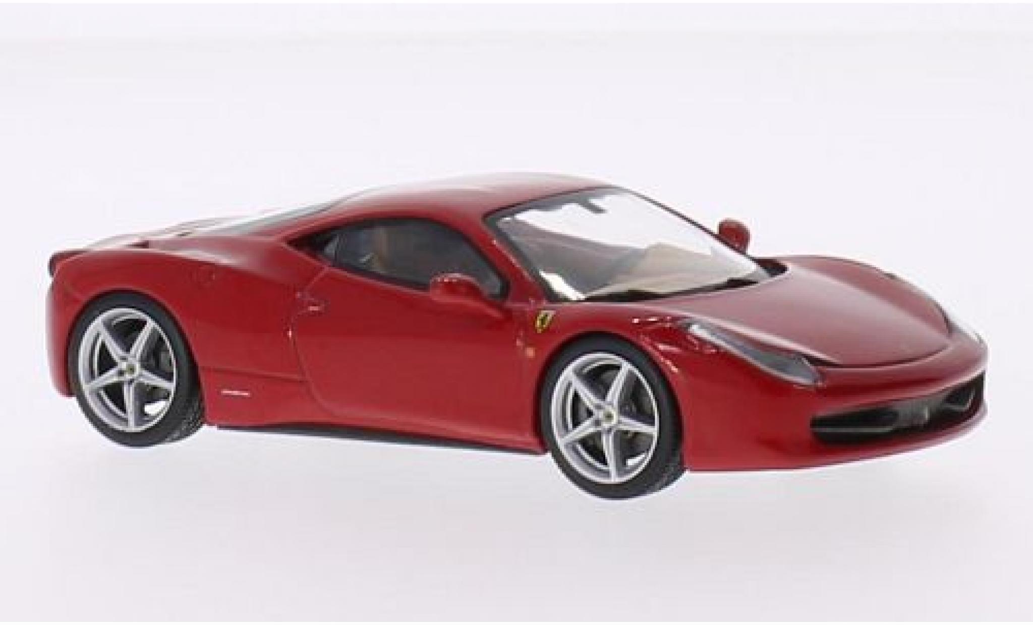 Ferrari 458 1/43 SpecialC 59 Italia rouge 2009 sans Vitrine