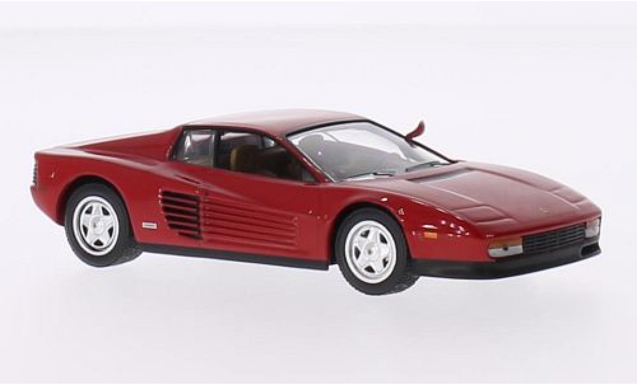 Ferrari Testarossa 1/43 SpecialC 59 rouge sans Vitrine