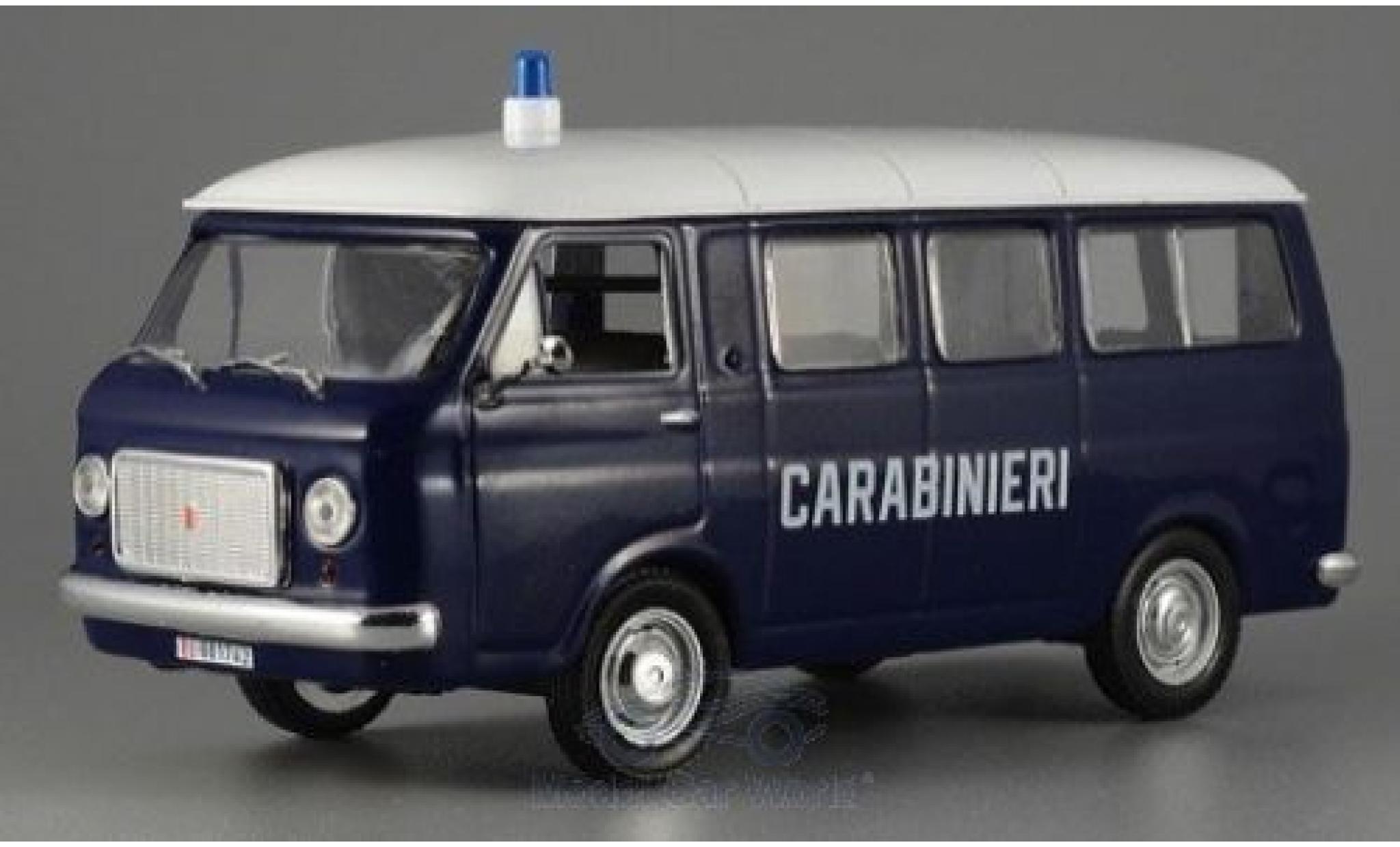 Fiat 238 1/43 SpecialC. 80 Minivan Carabineri ohne Vitrine