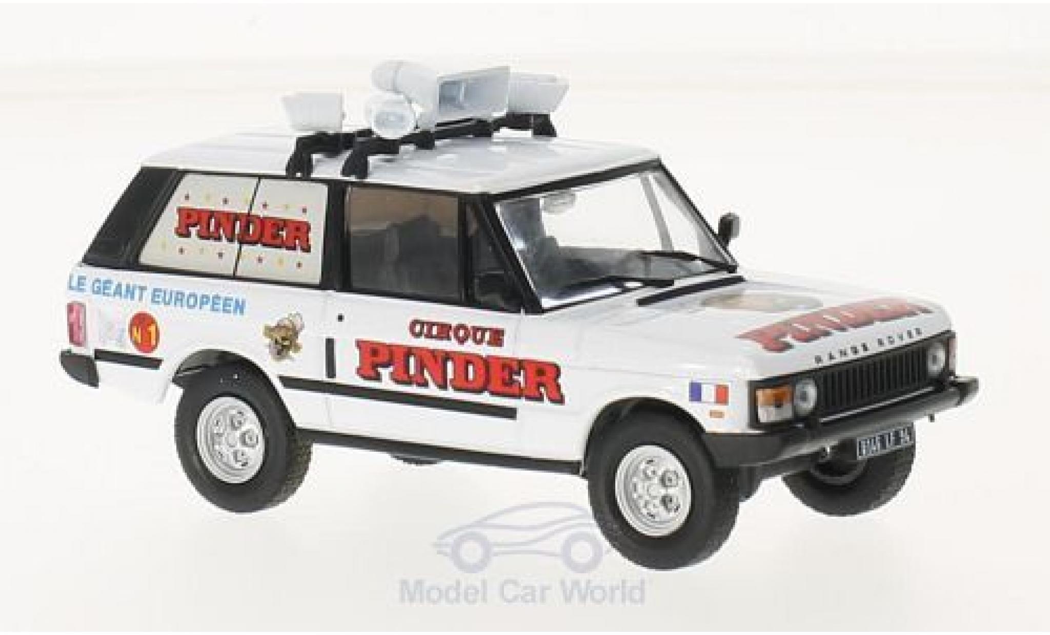 Land Rover Range Rover 1/18 SpecialC 87 Pinder ohne Vitrine