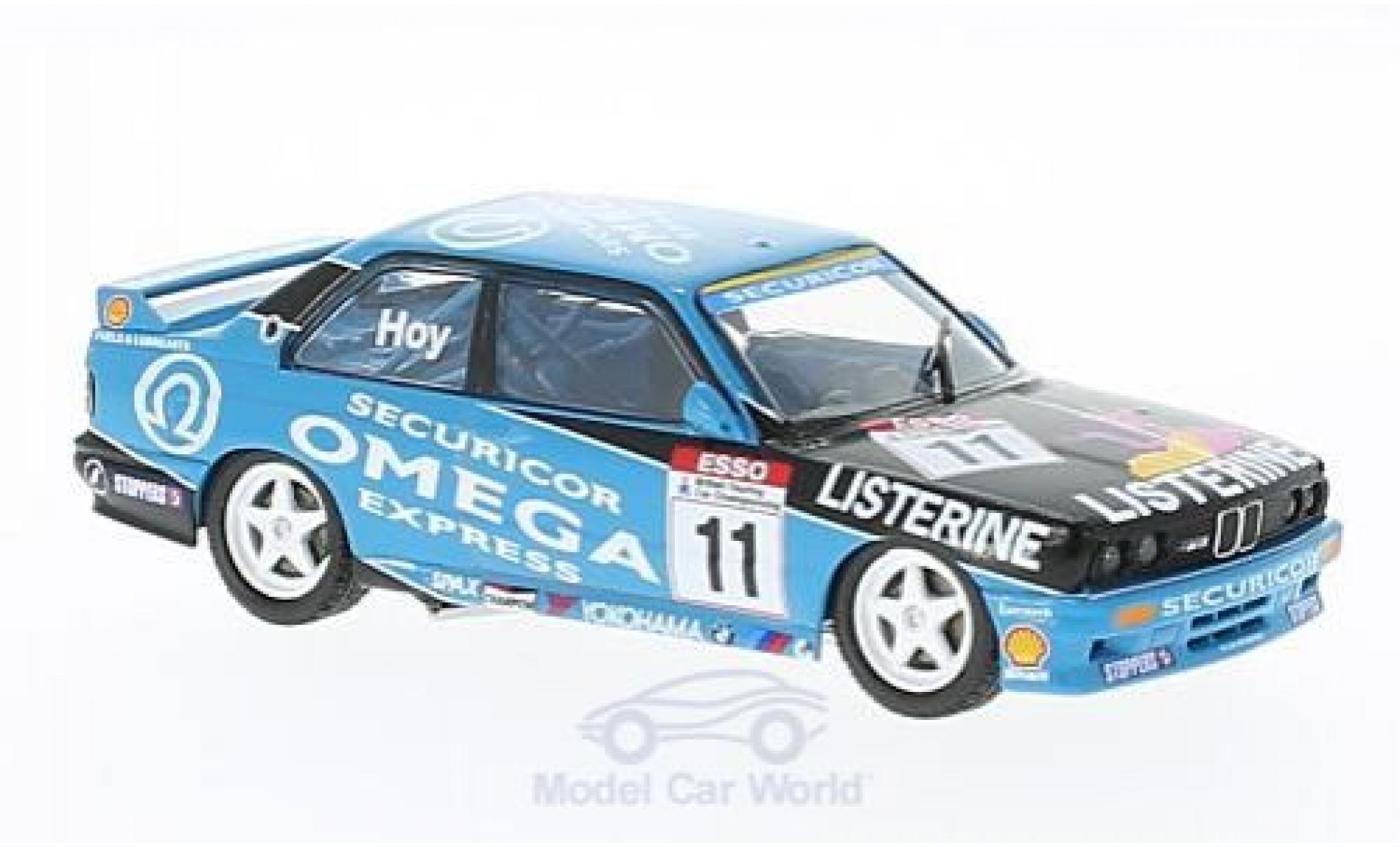 Bmw M3 1/43 SpecialC 92 (E30) No.11 VL Motorsport BTCC 1991 W.Hoy ohne Vitrine