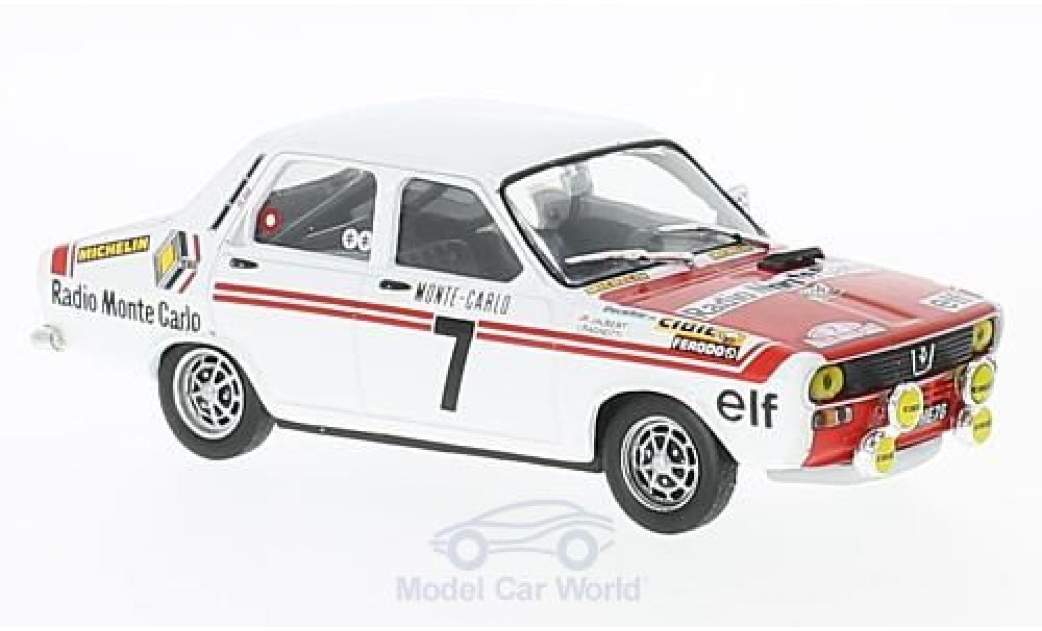 Renault 12 1/43 SpecialC 94 Gordini No.7 Rallye Monte Carlo 1973 J.Ragnotti/J.Jaubert ohne Vitrine