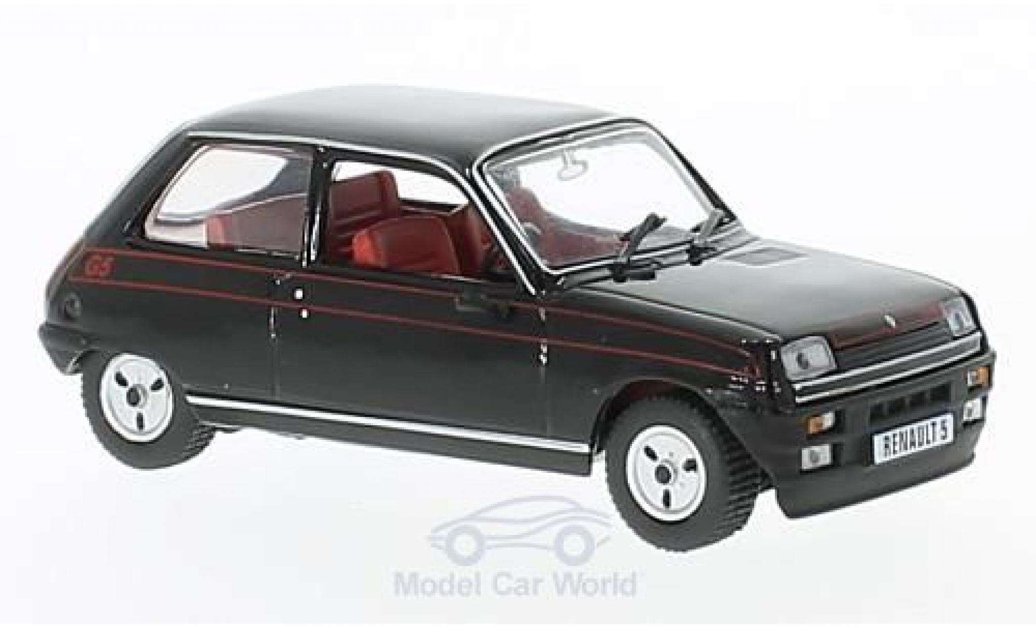 Renault 5 1/43 SpecialC 94 Gordini noire 1982 ohne Vitrine