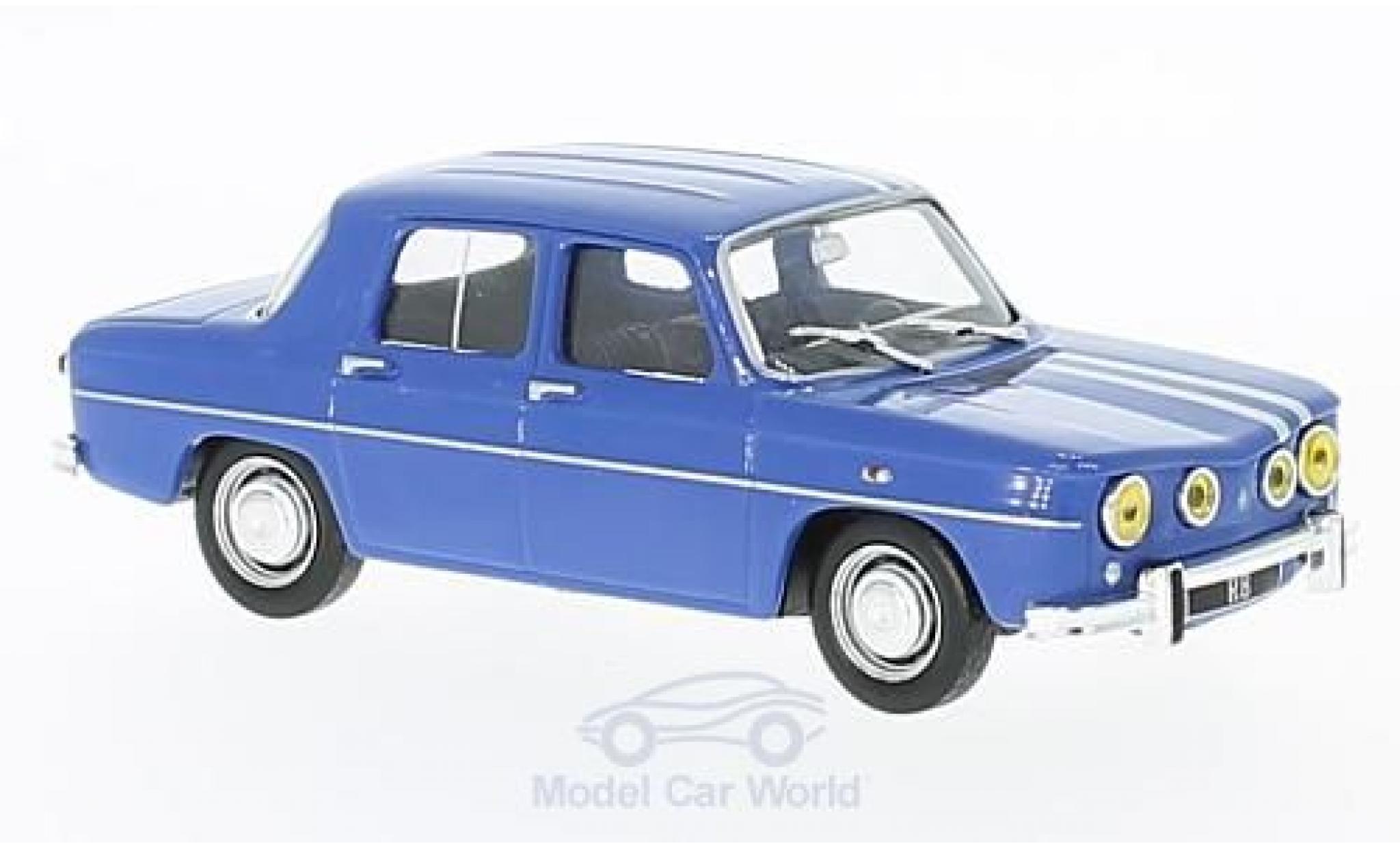 Renault 8 1/43 SpecialC 94 Gordini 1300 bleue 1966 ohne Vitrine
