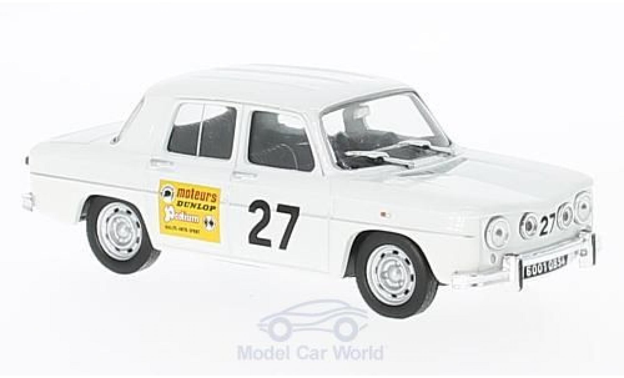 Diecast Model Cars Renault 8 1 43 Specialc 94 Gordini No 27 196 Coupe Gordini Ohne Vitrine Alldiecast Us