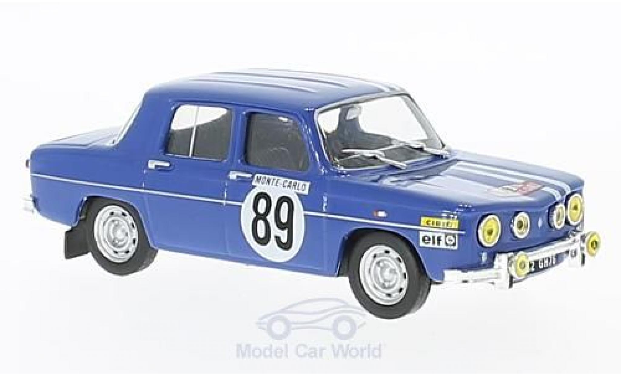 Renault 8 1/43 SpecialC 94 Gordini No.9 Rallye Monte Carlo 1969 J-L.Therier/M.Callewaert ohne Vitrine