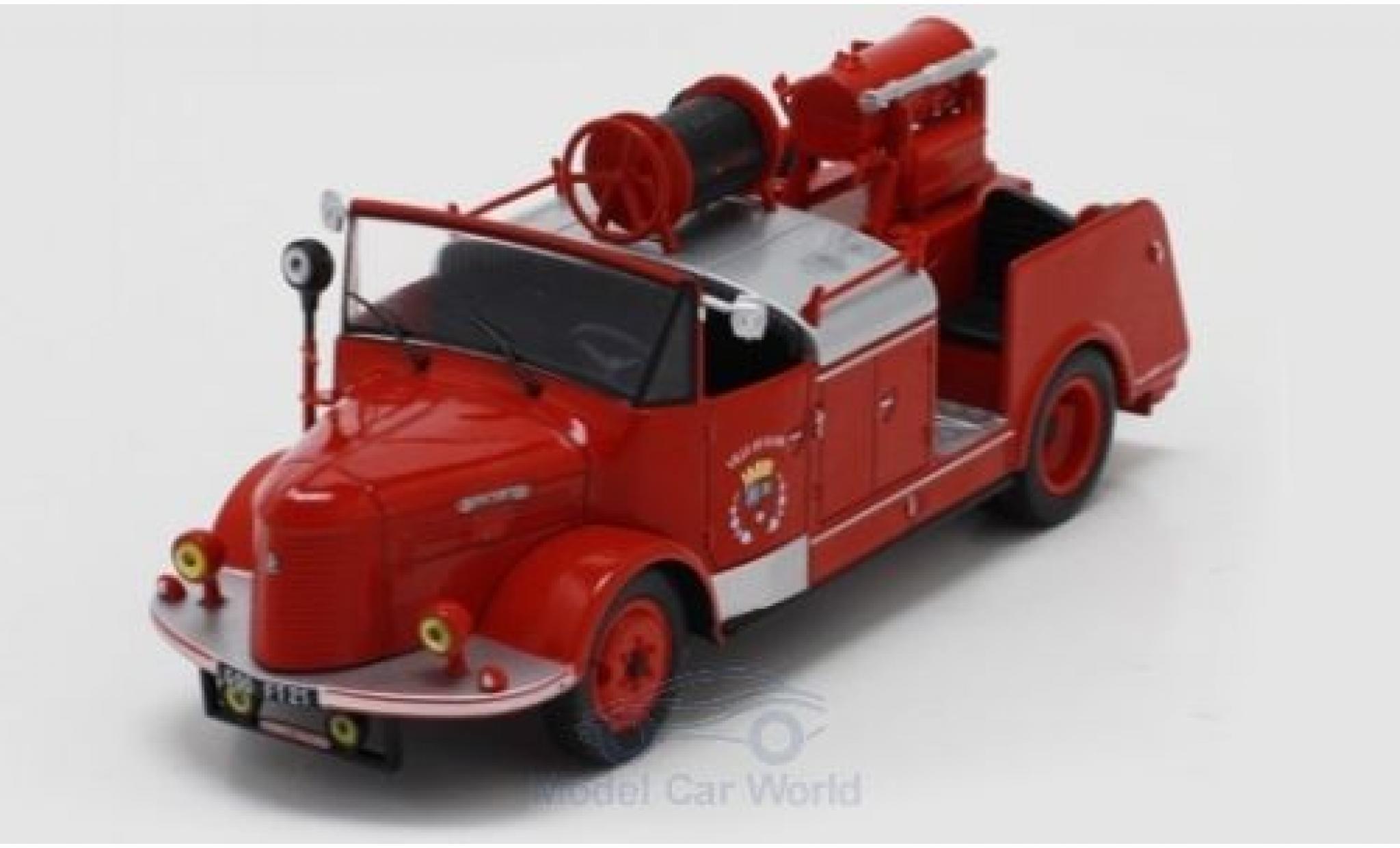 Hotchkiss PL 50 1/43 SpecialC 96 Pompiers - Ville De Dijon