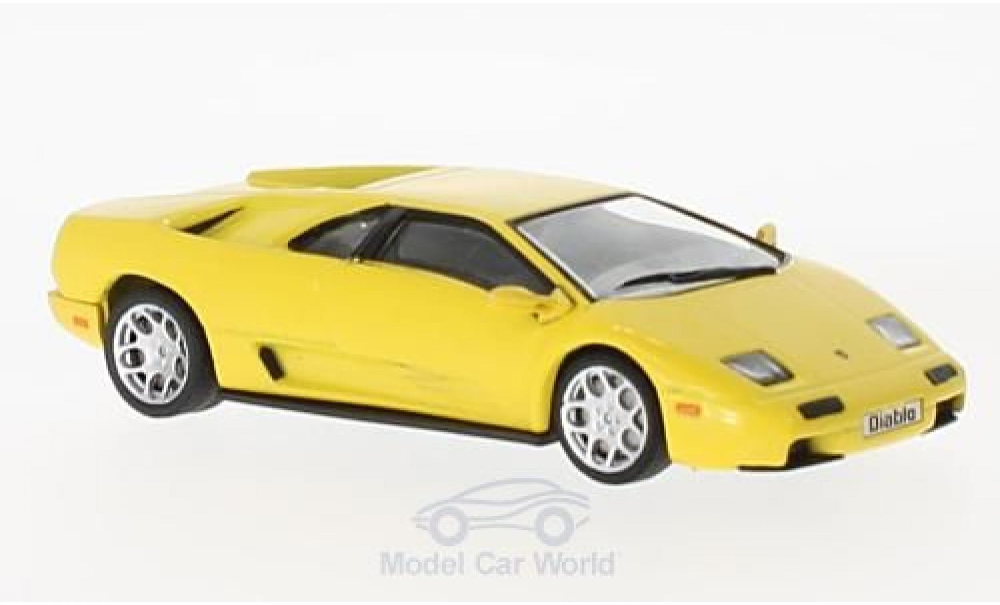 Lamborghini Diablo VT 1/43 SpecialC 98 VT jaune 2000