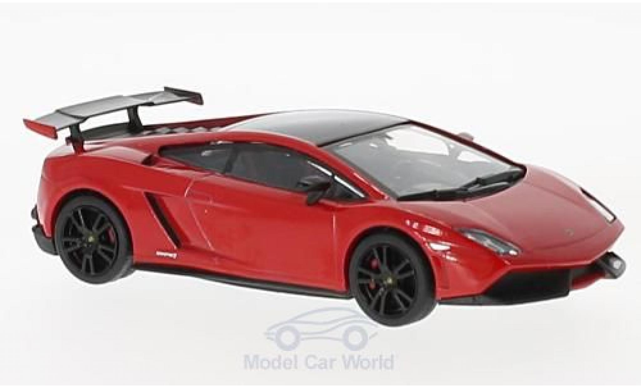 Lamborghini Gallardo 1/43 SpecialC 98 LP 570-4 Super Trofeo Stradale rouge/noire 2011