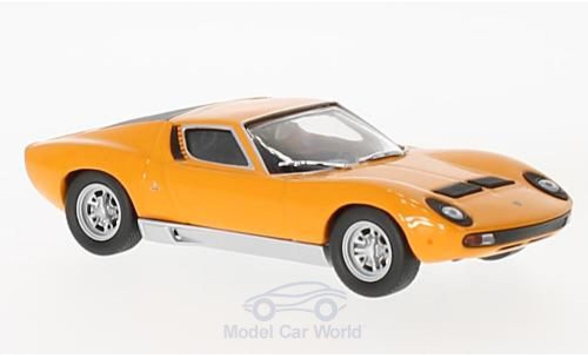Lamborghini Miura 1/43 SpecialC. 98 P400 orange 1966