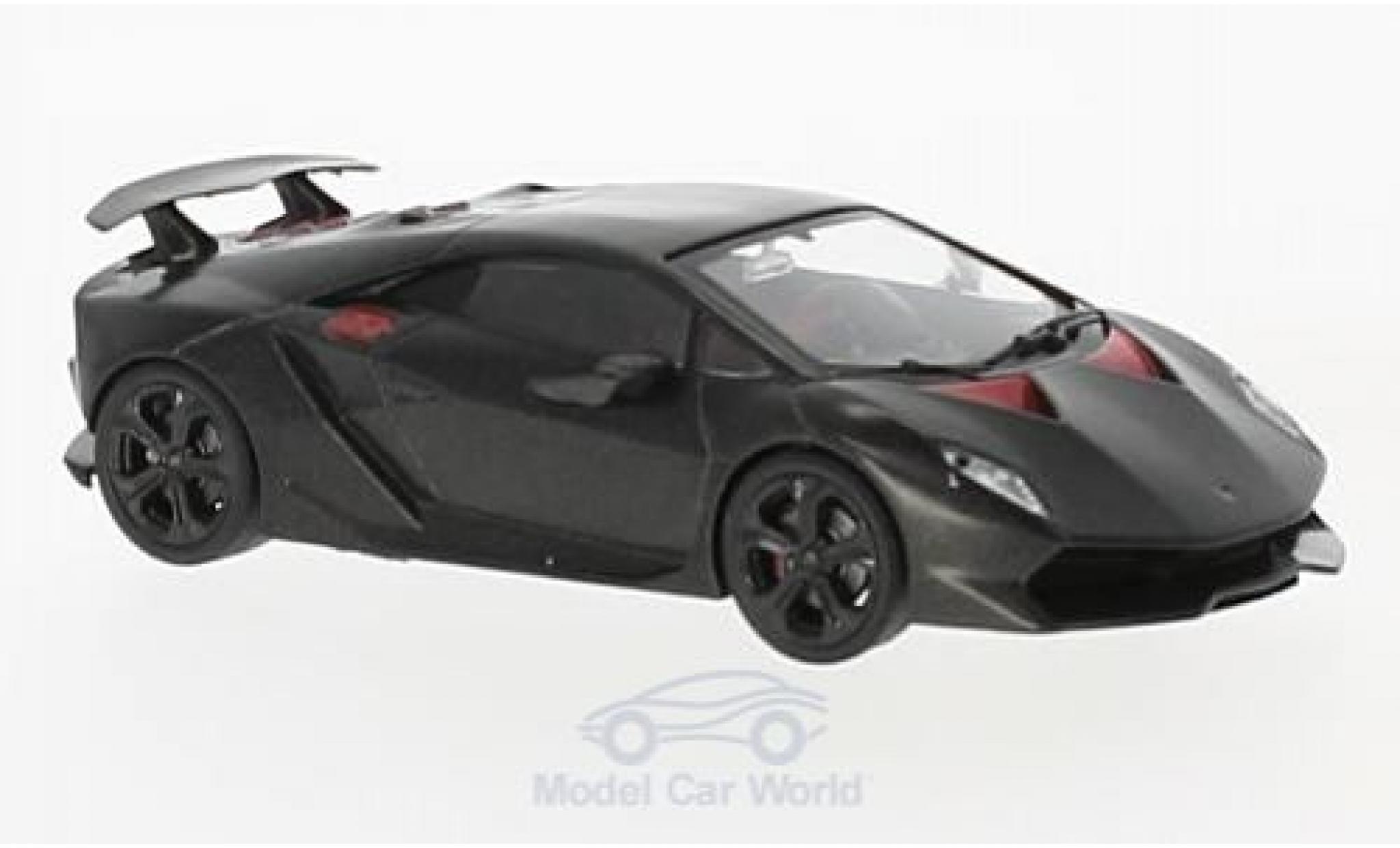 Lamborghini Sesto Elemento 1/43 SpecialC 98 matt-black/red 2010