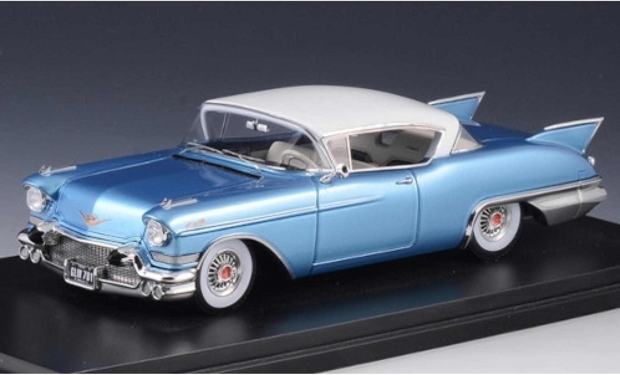 Cadillac Eldorado 1/43 Stamp Models Seville metallise blue/white 1957