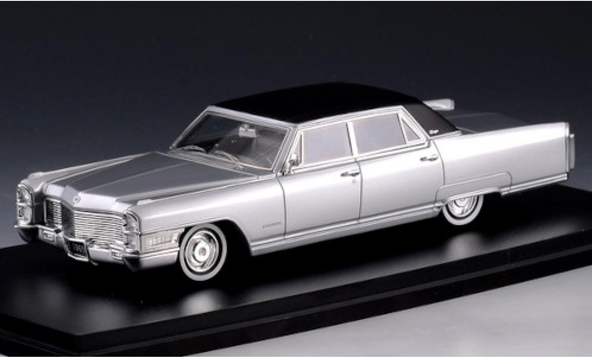 Cadillac Fleetwood 1/43 Stamp Models 60 Special grey/matt-black 1965