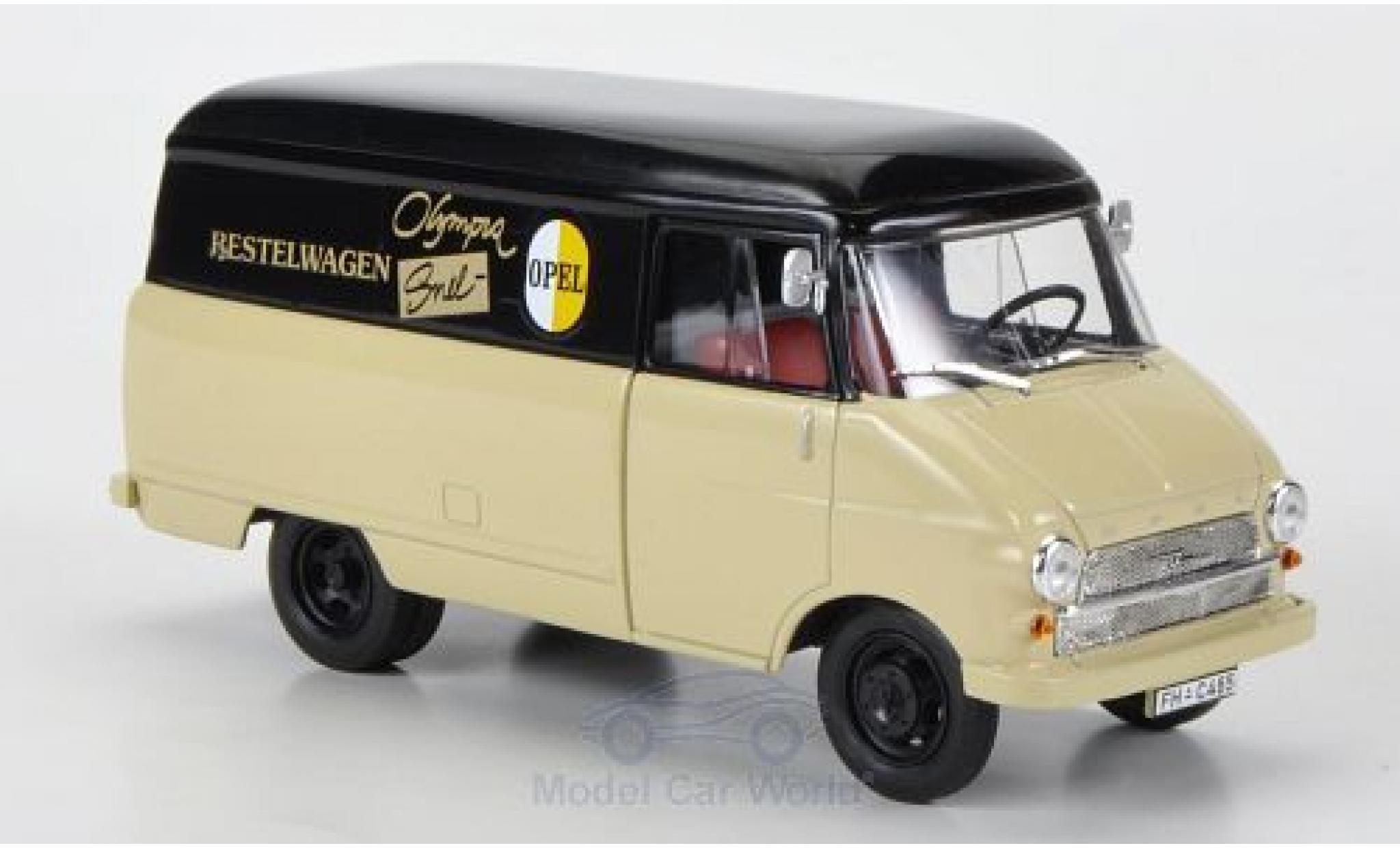 Opel Blitz 1/43 Starline Kastenwagen A Snelbestelwagen 1960 ohne Vitrine