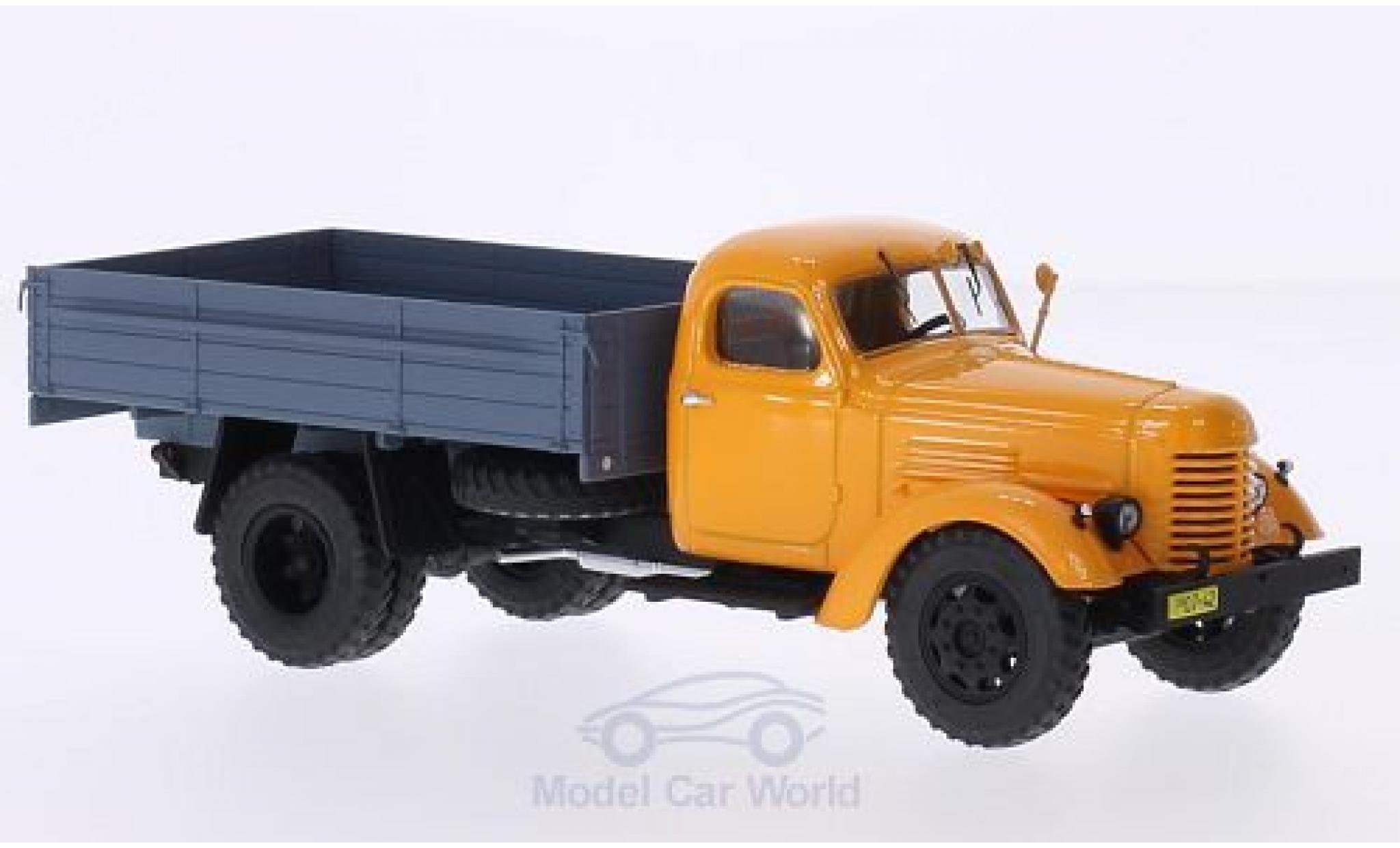 Zis 150 1/43 Start Scale Models ZIS orange/matt-grise