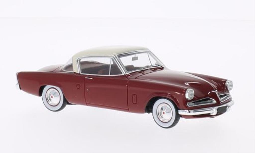 Studebaker Champion 1/43 Spark rouge/elfenbein Sondermodell MCW L.E.300 1953 miniature