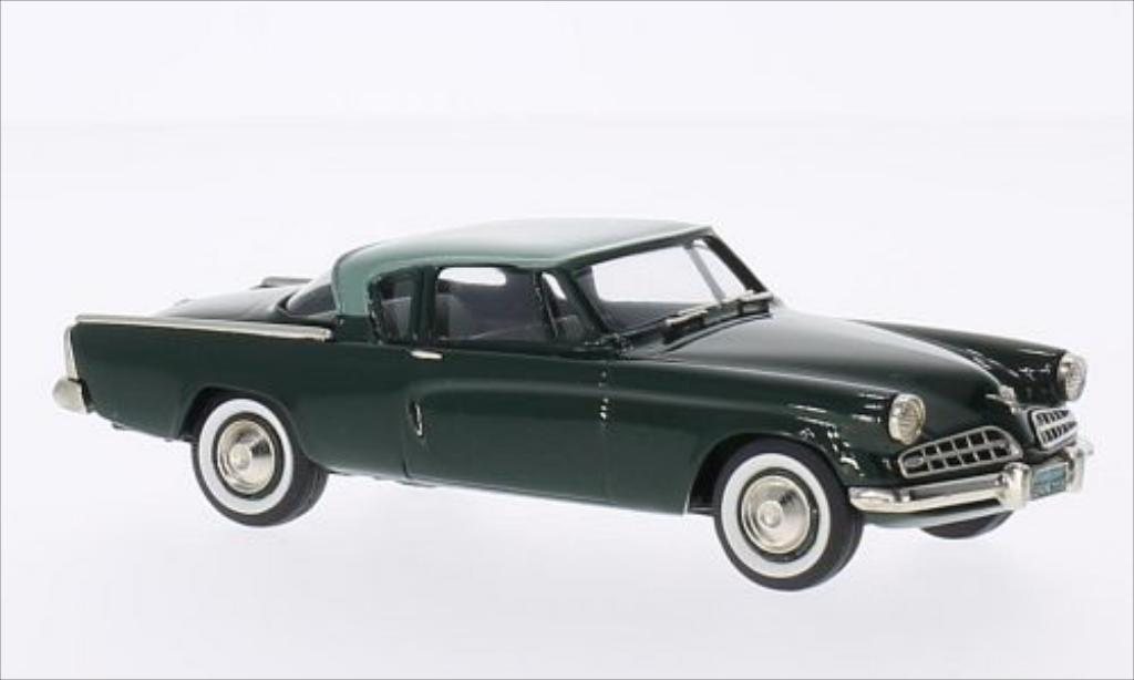 Studebaker Commander 1/43 Brooklin Coupe grun/grun 1954 miniature