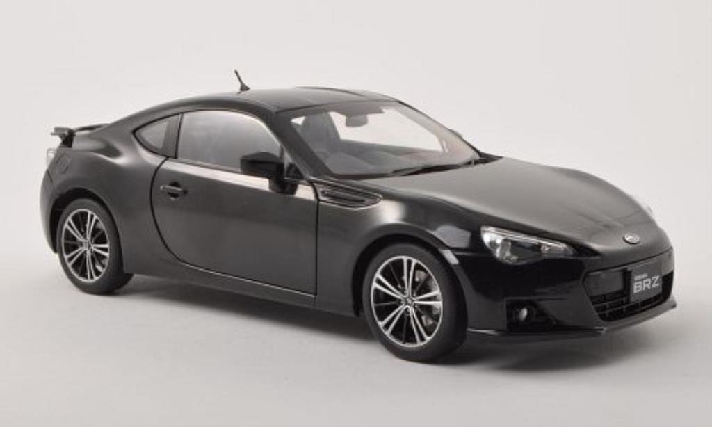 Subaru BRZ black RHD Autoart diecast model car 1/18 - Buy ...