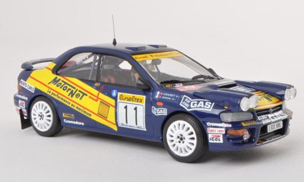 Subaru Impreza 1/43 Trofeu 4x4 Turbo No.11 MotorNet Rallye Monte Carlo 1996 /C.Baroni miniature