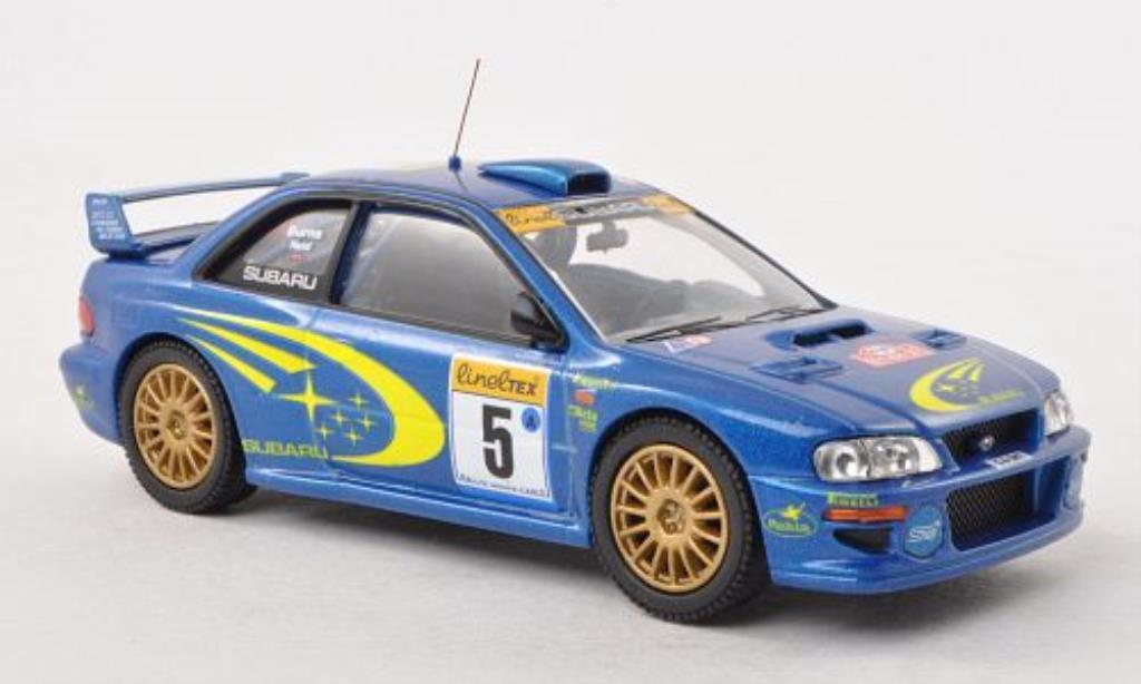 Subaru Impreza 1/43 Vanguards S5 WRC No.5 Rally Monte Carlo 1999 miniature