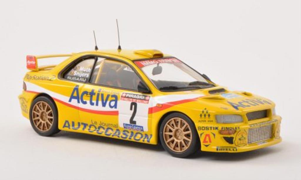 Subaru Impreza 1/43 Trofeu WRC2000 No.2 Rally de Wallonie 2003 /Muth miniature