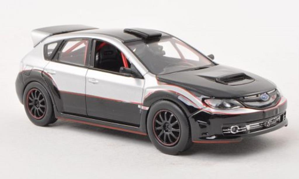 Subaru Impreza WRX 1/43 Greenlight STi black/grey Fast & Furious 2009 diecast model cars