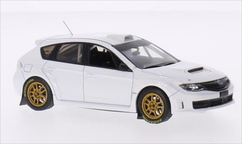 Subaru Impreza WRX 1/43 IXO STI blanche 2011 miniature