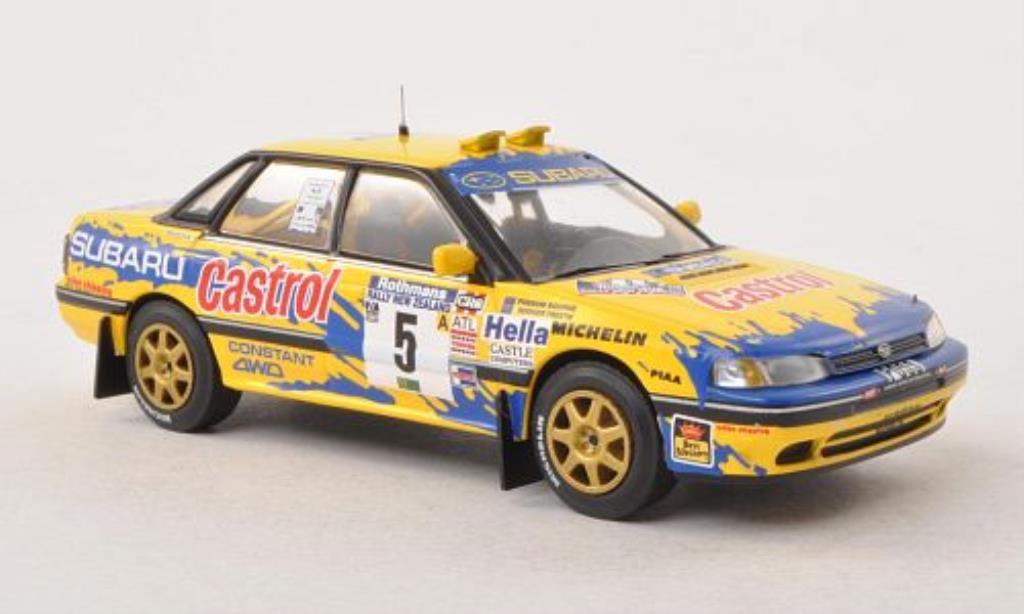Subaru Legacy 1/43 IXO No.5 Rally Neuseeland 1992 /R.Freeth miniature
