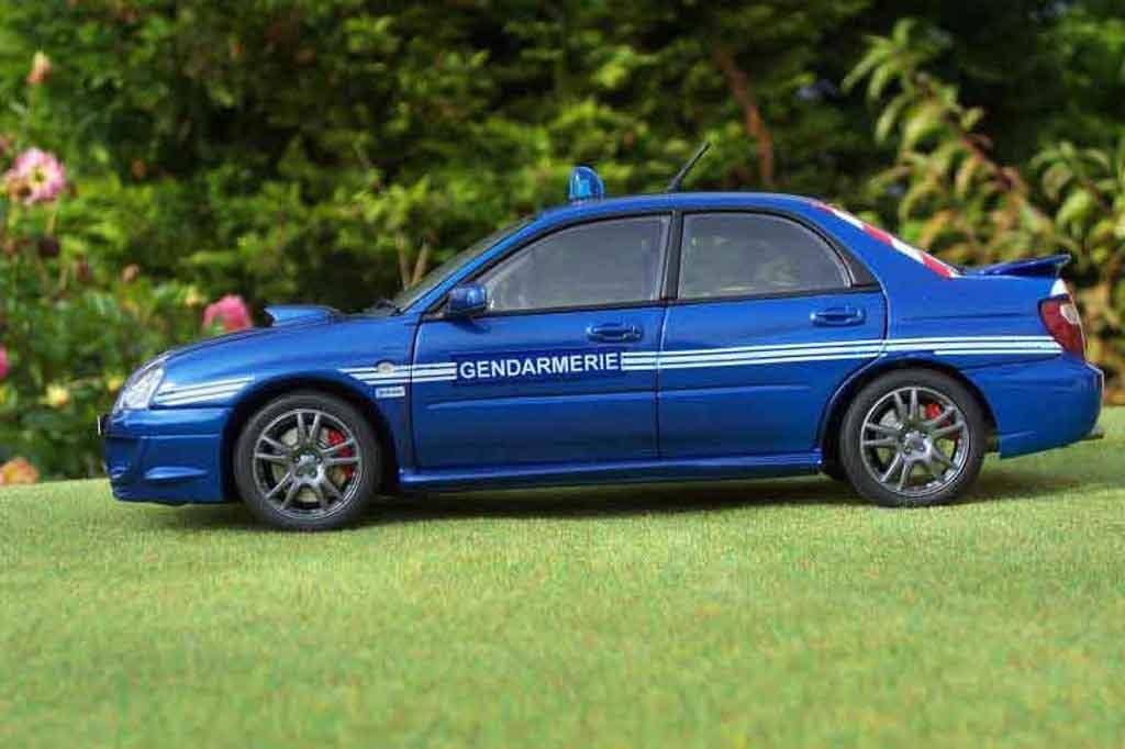 Subaru Impreza WRX 1/18 Autoart STI gendarmerie / police