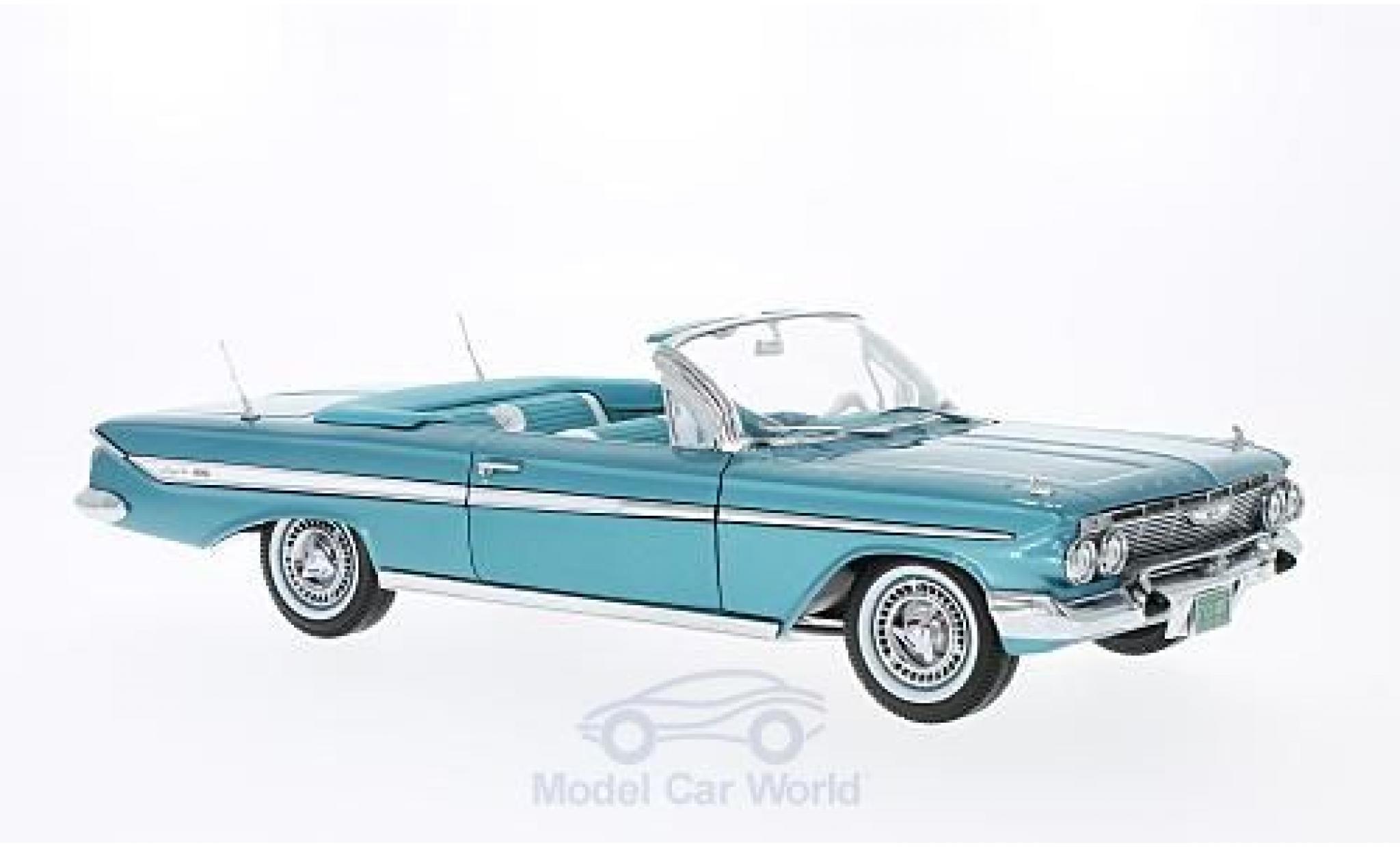 Chevrolet Impala 1961 1/18 Sun Star Convertible metallic-türkis 1961