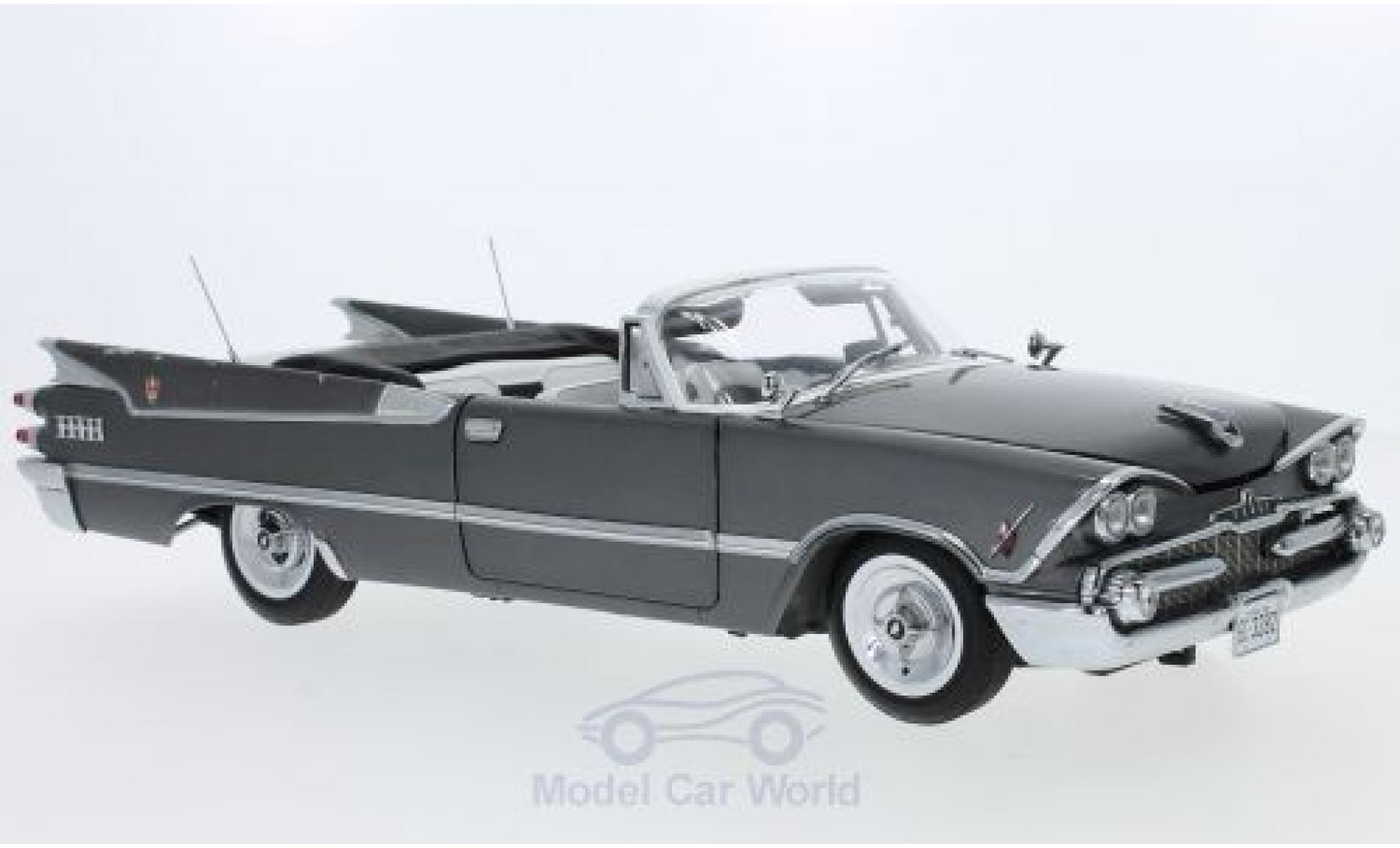 Dodge Custom Royal Lancer 1/18 Sun Star Convertible grey 1959 ohne Vitrine