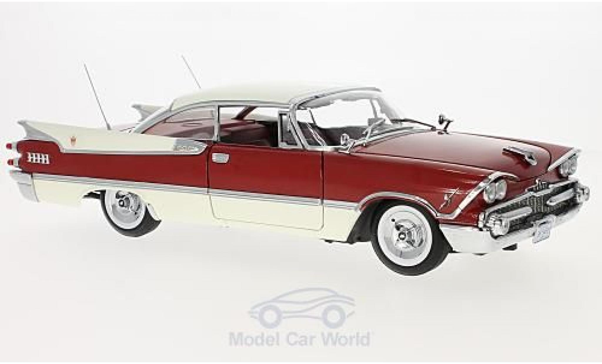 Dodge Custom Royal Lancer 1/18 Sun Star Hard Top beige/red 1959