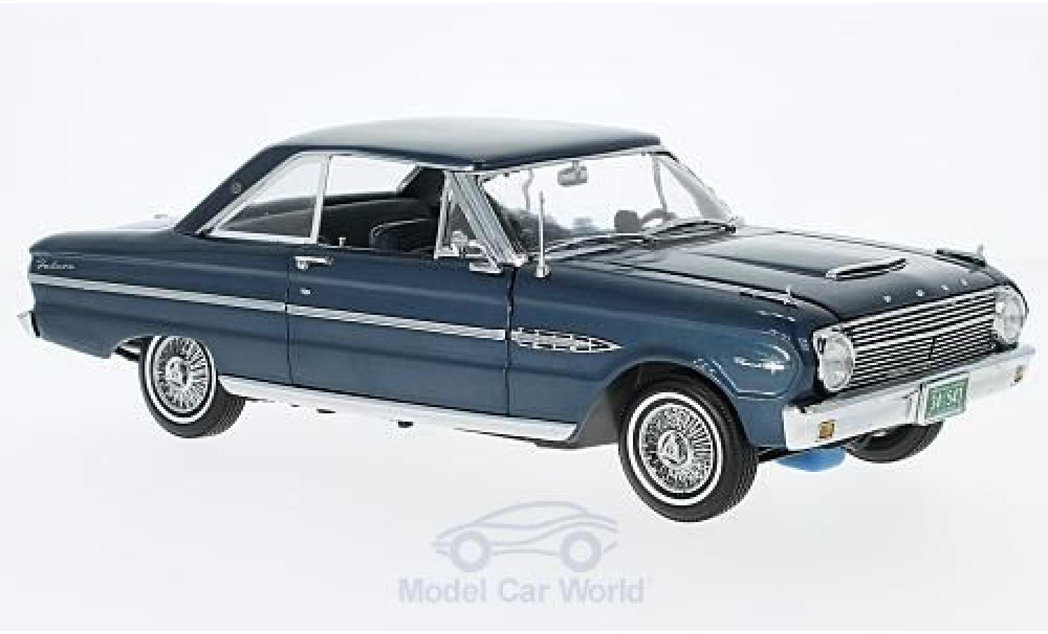 Ford Falcon 1/18 Sun Star HardTop metallise bleue 1963 ohne Vitrine