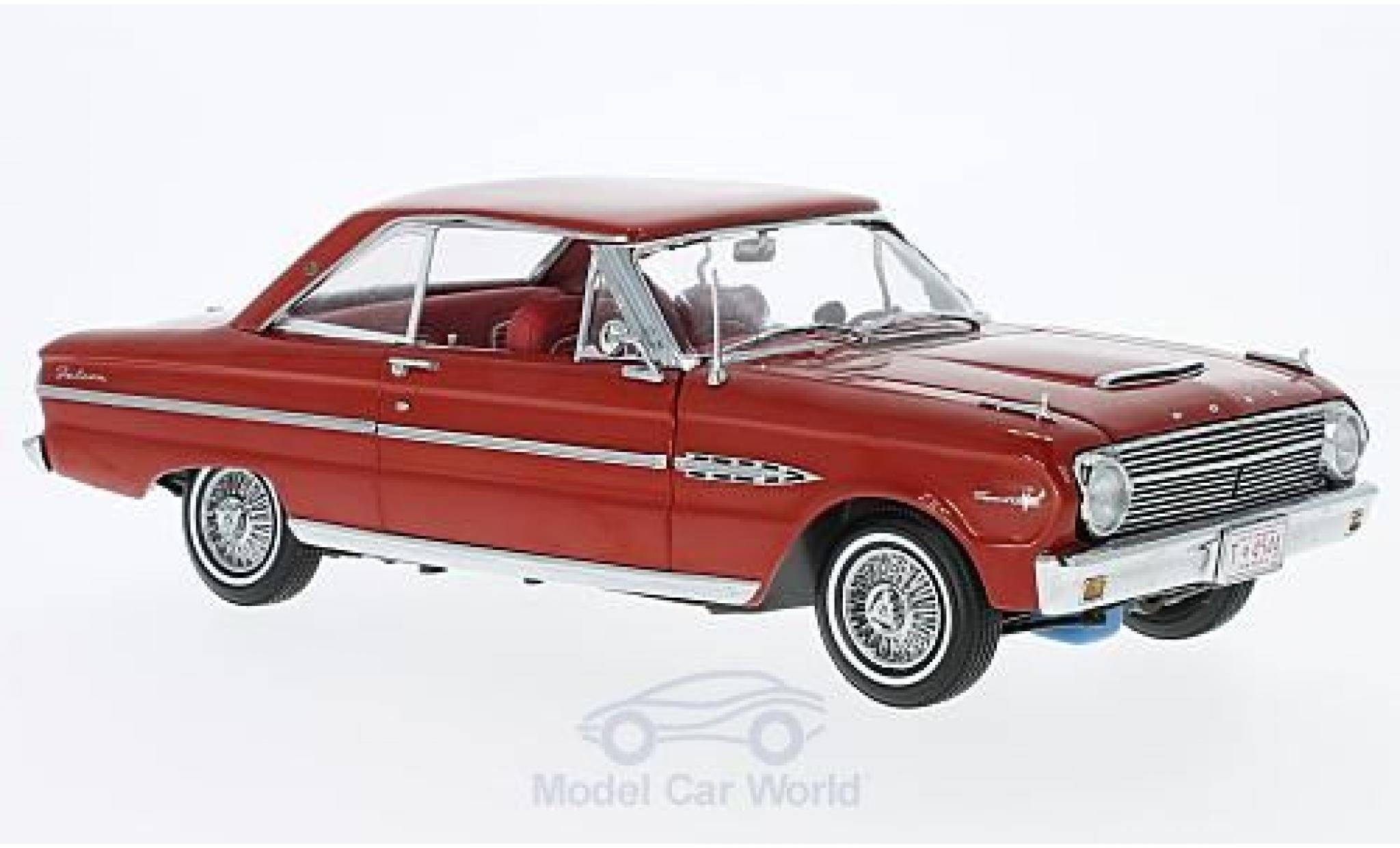 Ford Falcon 1/18 Sun Star HardTop red 1963 ohne Vitrine