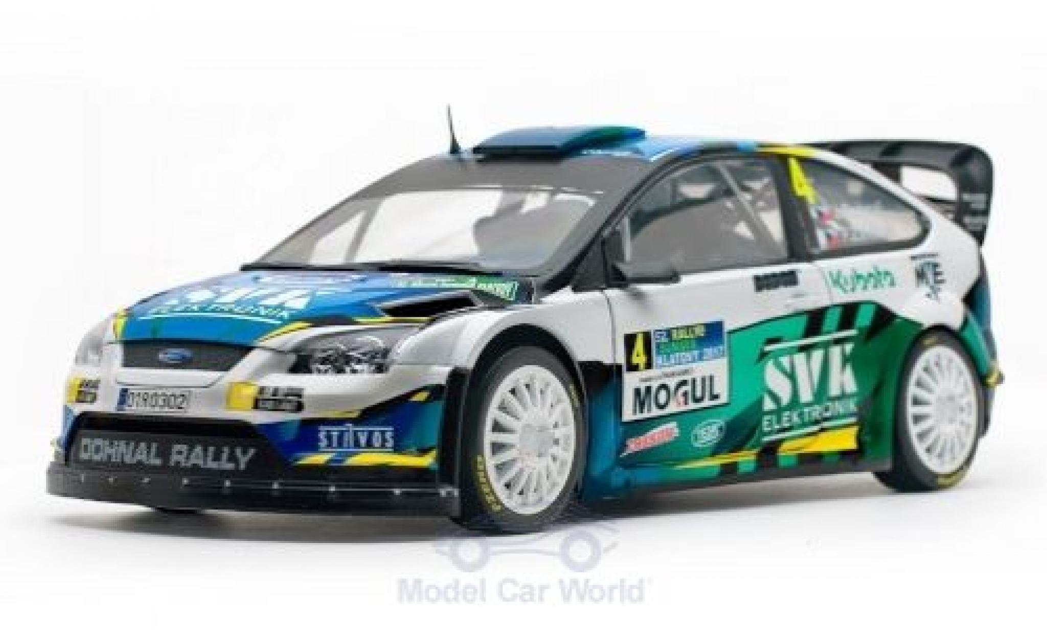 Ford Focus 1/18 Sun Star RS WRC No.4 Rally Sumava Klatovy 2017 J.Dohnal/M.Ernst