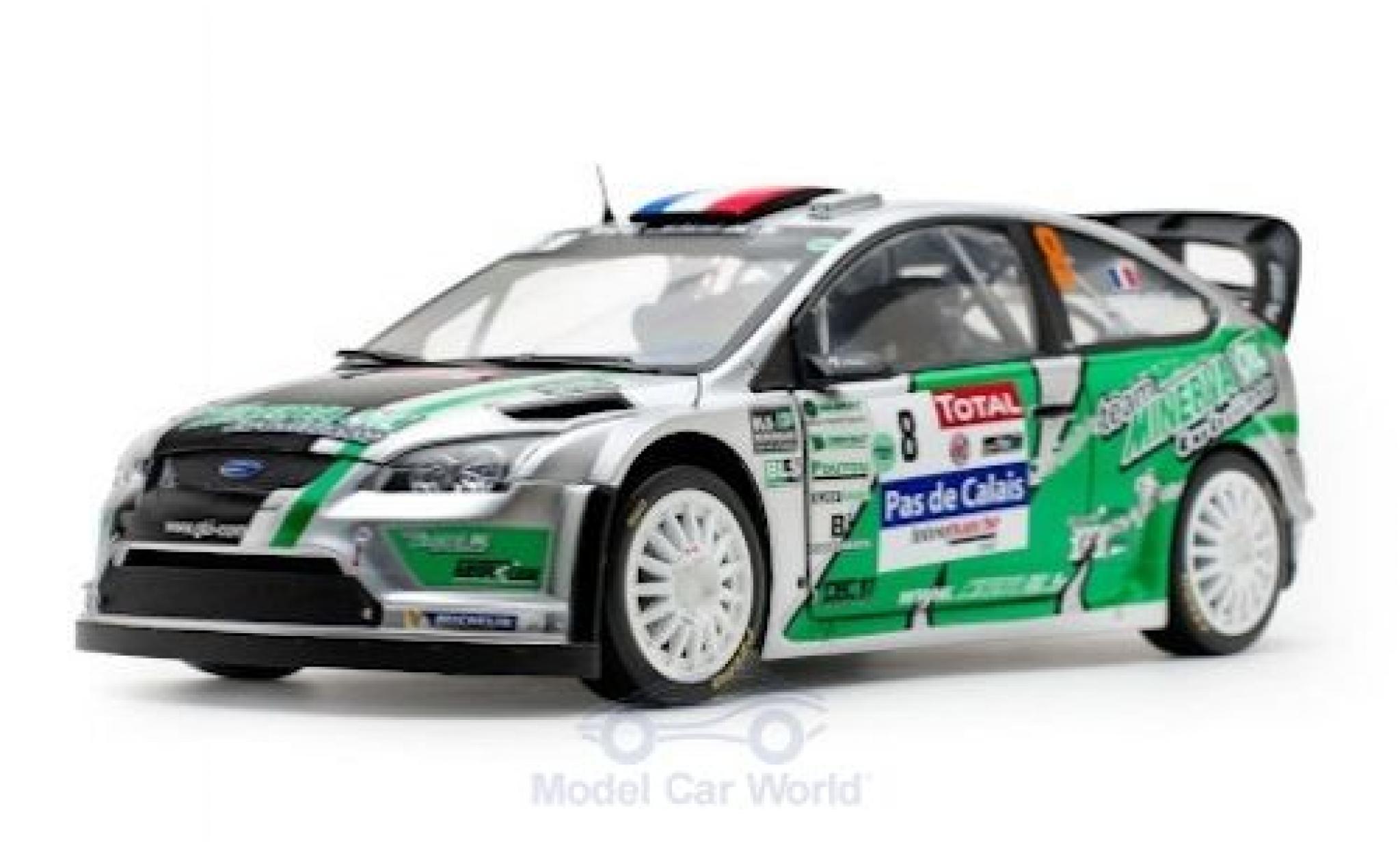 Ford Focus 1/18 Sun Star RS WRC No.8 Rally Touquet 2012 J.-C.Beaubelique/C.Hugonnot