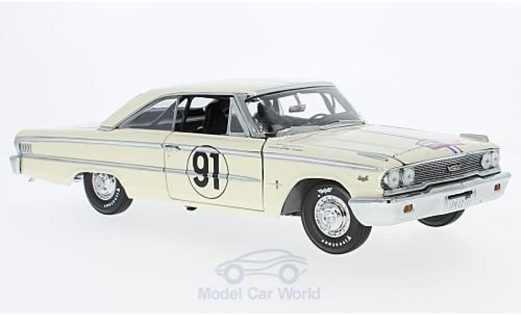 Ford Galaxy 1/18 Sun Star Galaxie 500 XL No.91 Tour de France Auto 1963 H.Greder/M.Foulgoc