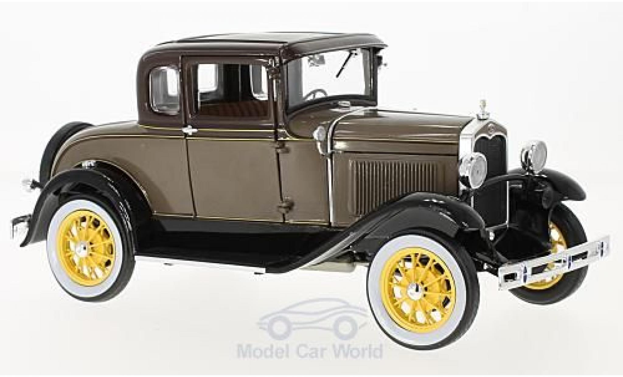 Ford Model A 1/18 Sun Star Coupe marron 1931