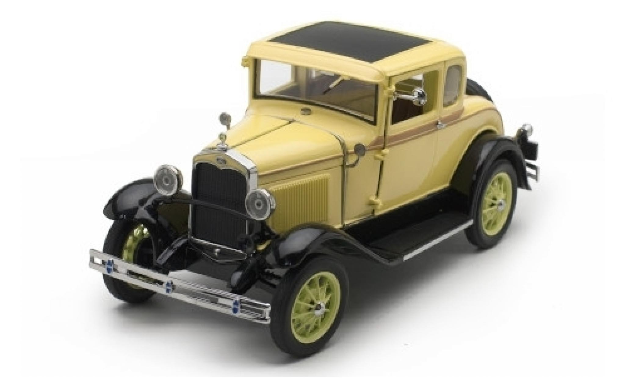 Ford Model A 1/18 Sun Star Coupe jaune 1931