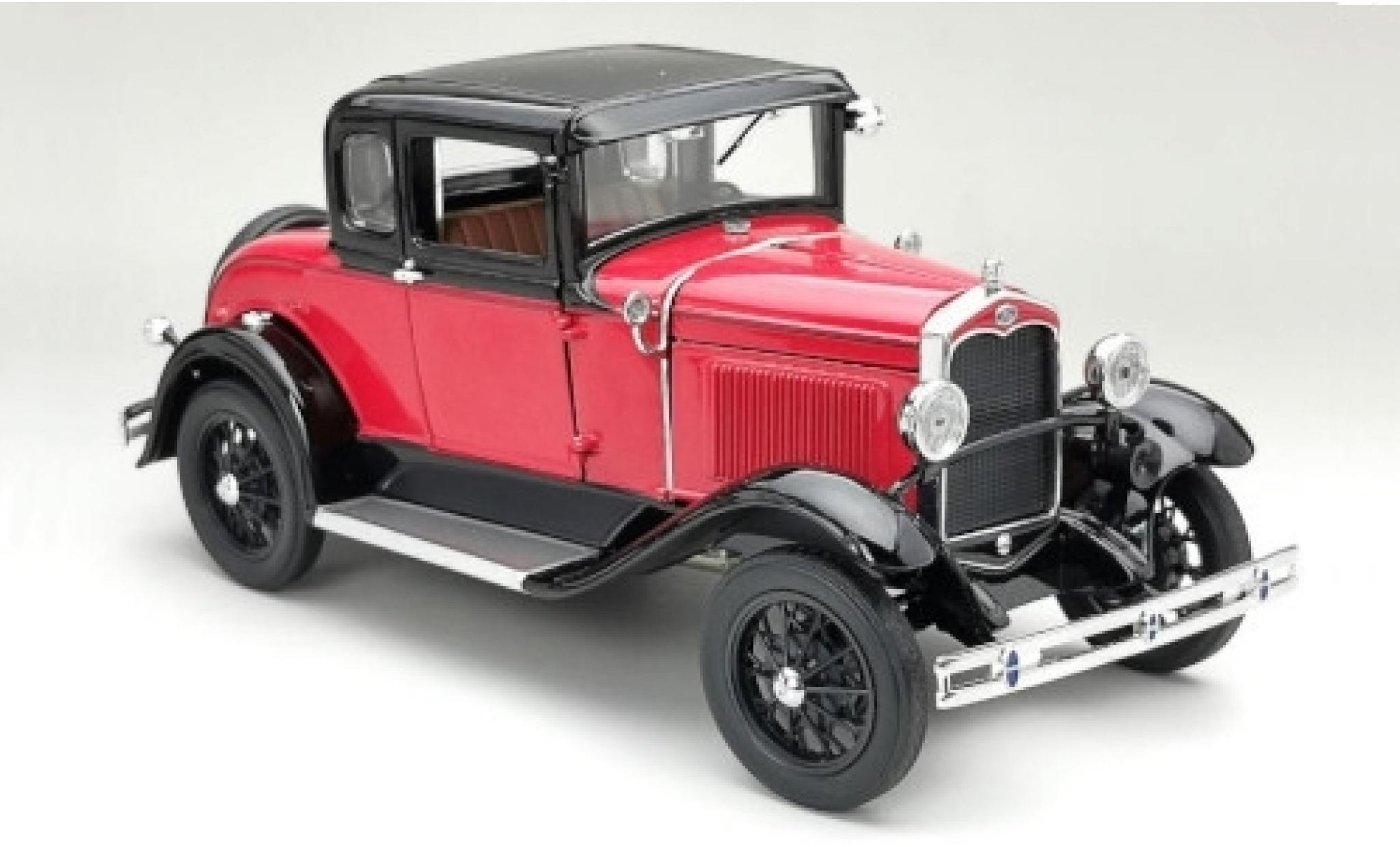 Ford Model A 1/18 Sun Star Coupe rouge/noire 1931