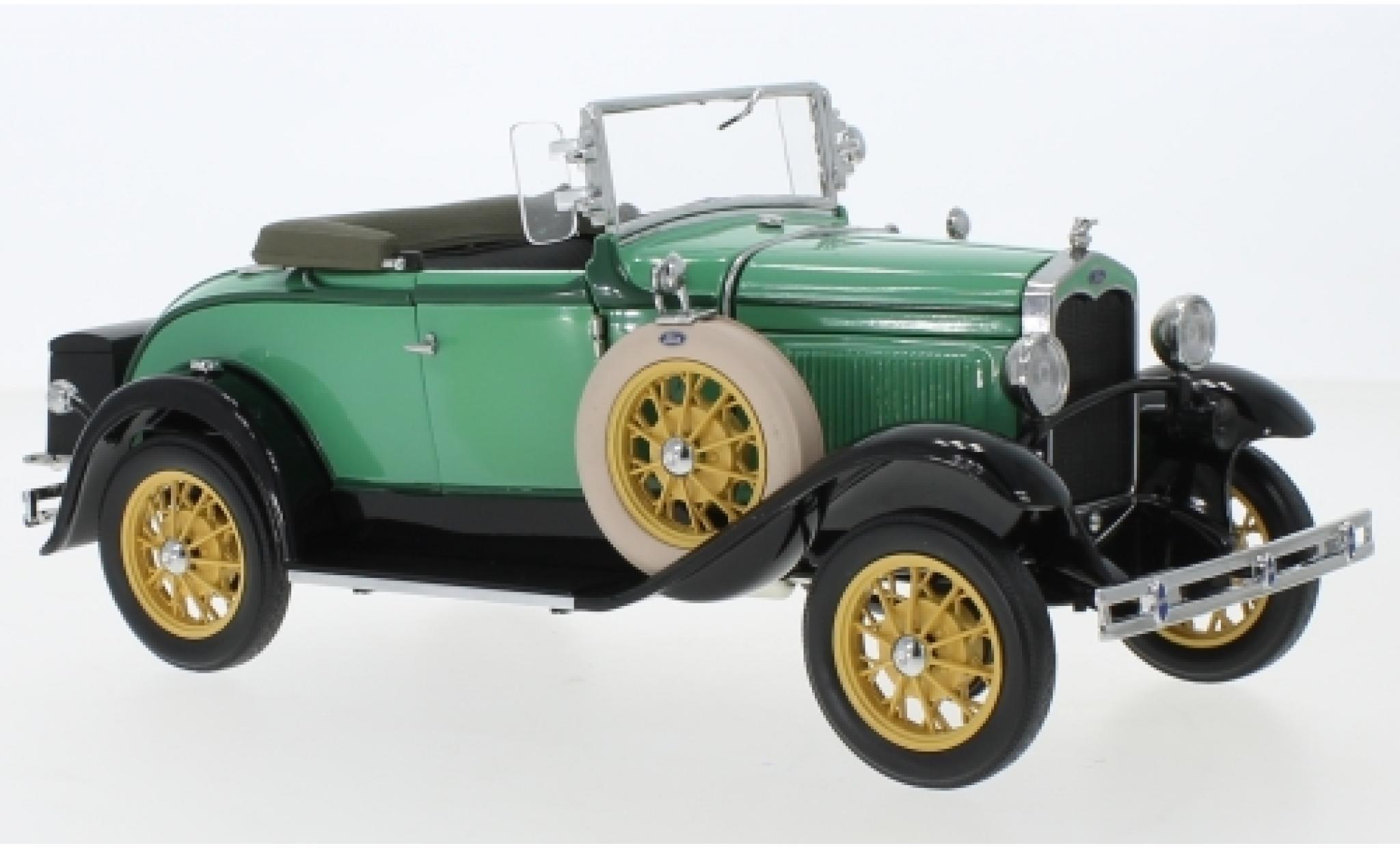 Ford Model A 1/18 Sun Star Roadster verte 1931