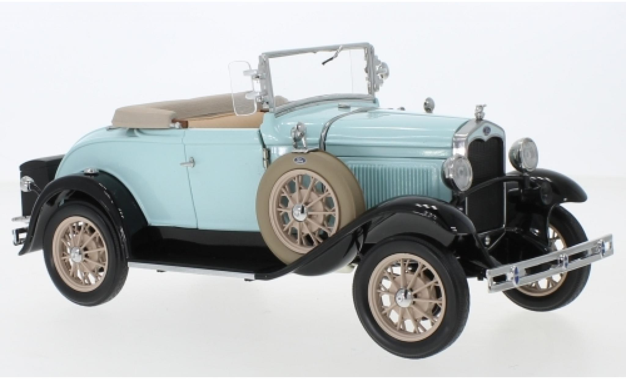 Ford Model A 1/18 Sun Star Roadster bleue 1931