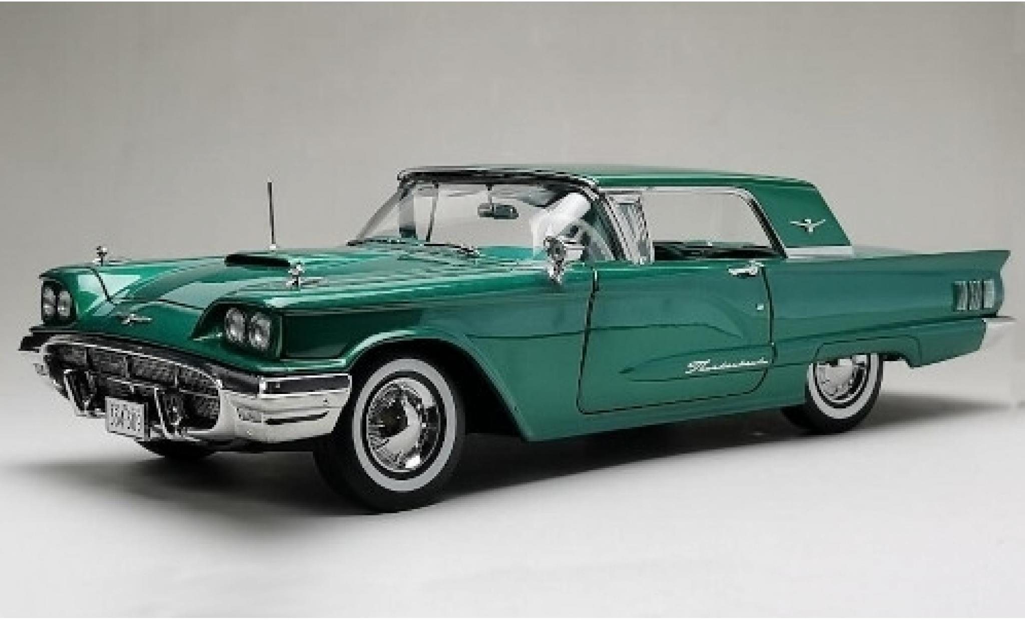 Ford Thunderbird 1/18 Sun Star HardTop Coupe metallise verde 1960