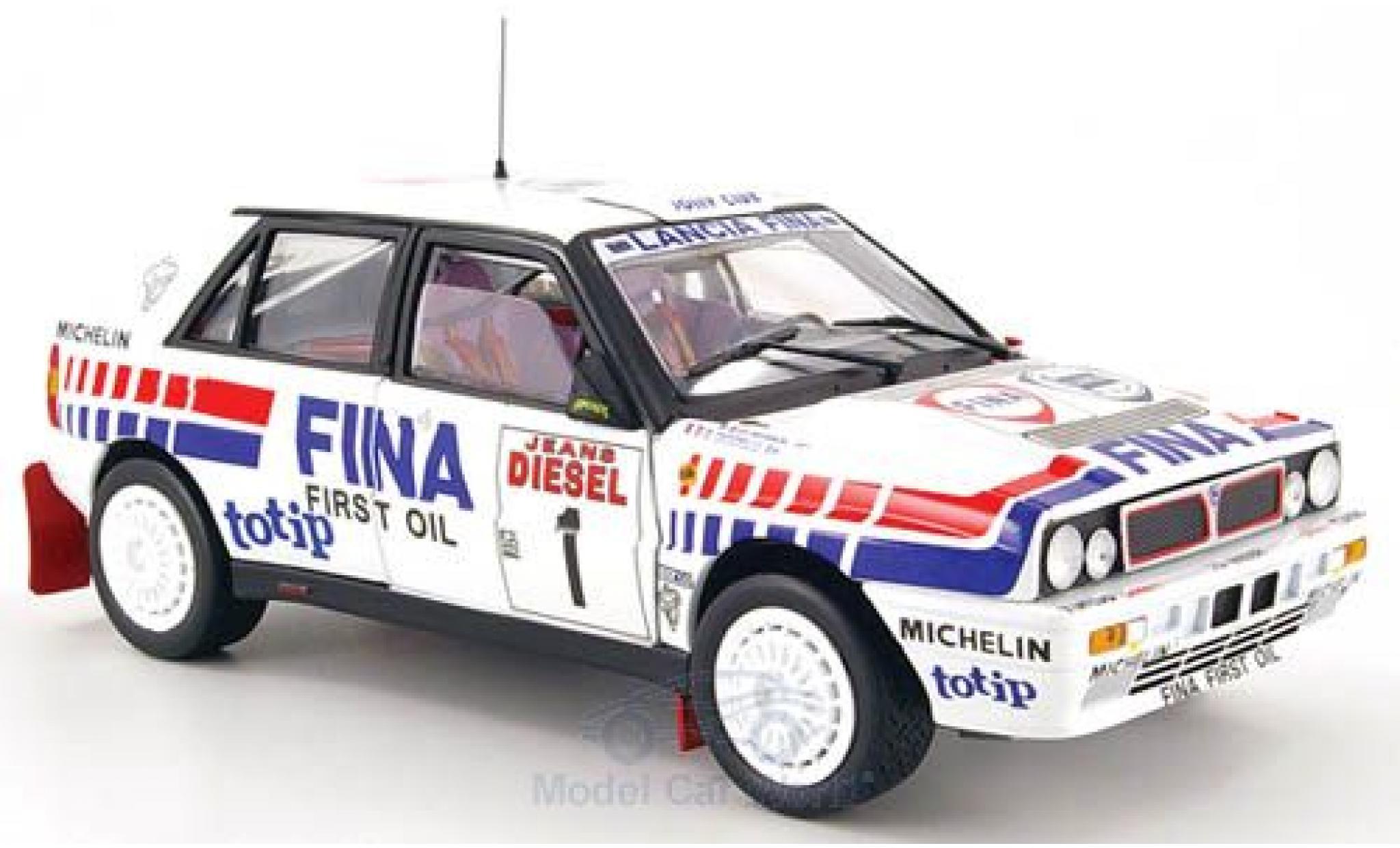 Lancia Delta 1/18 Sun Star HF Integrale 16V No.1 Fina Rallye WM Rallye Sanremo 1991 D.Auriol/B.Occelli