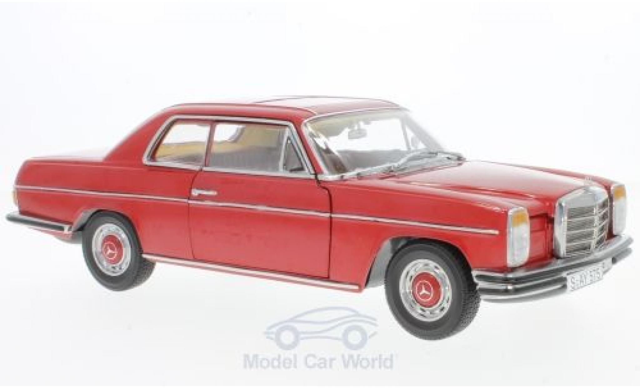 Mercedes 280 1/18 Sun Star C/8 Coupe rouge 1973