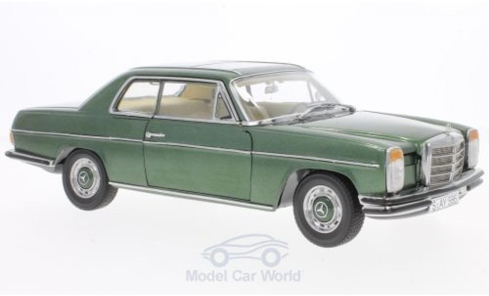 Mercedes 280 1/18 Sun Star C /8 (W 115) metallise green 1973