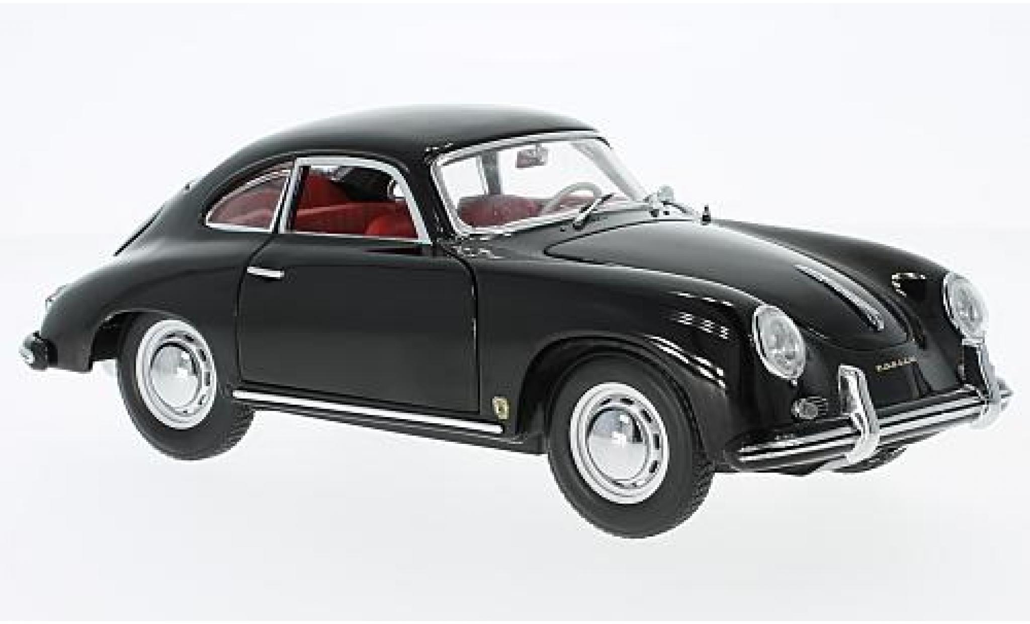 Porsche 356 1/18 Sun Star A 1500 GS Carrera GT black 1957 sans Vitrine
