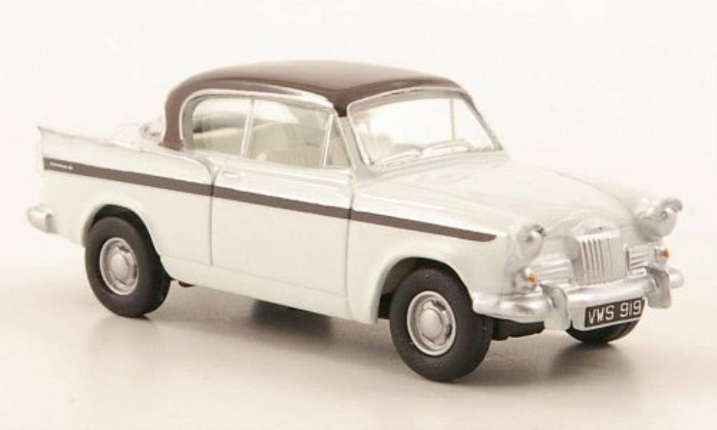 Sunbeam Rapier 1/76 Oxford MKIII blanche/marron miniature