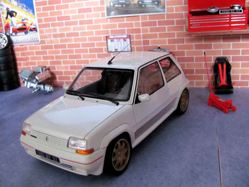 renault 5 gt turbo phase 1 white wheels clio williams norev diecast model car 1 18 buy sell. Black Bedroom Furniture Sets. Home Design Ideas