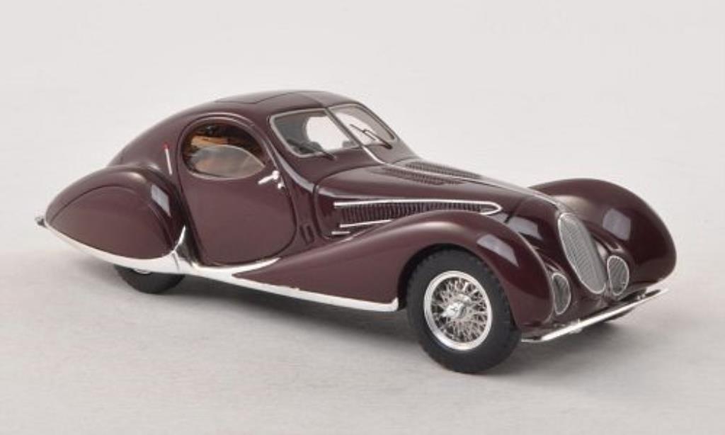 Talbot Lago 1/43 Minichamps T 150 C-SS Coupe rouge 1937 miniature